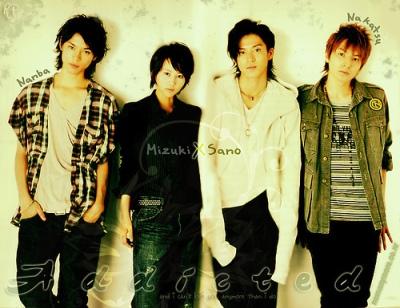 Nanba Minami , Ashiya Mizuki, Sano Izumi dan Nakatsu Shuichi