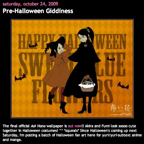 Pre-Halloween